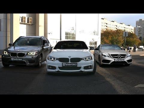 Сделали BMW M4 из 440! Mercedes который поехал и реактивный X1!