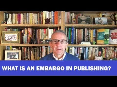 What is an Embargo in Scholarly Publishing?