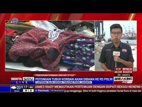 Sudah 51 Kantung Jenazah Korban Pesawat JT-610 Dievakuasi Tim SAR Mp3