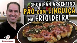 Como Fazer Pão Com Linguiça na Frigideira