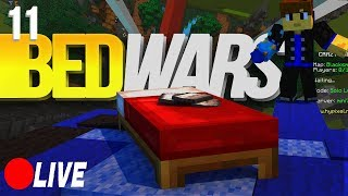 Minecraft: BedWars - Episode 11 - ATTACK OF THE FLAMES W/Fyre (LIVE)