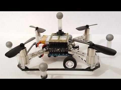 Drone autônomo feito no MIT pode dirigir e voar