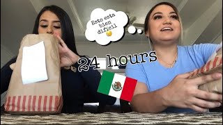 SPEAKING SPANISH FOR 24 HOURS; VLOG