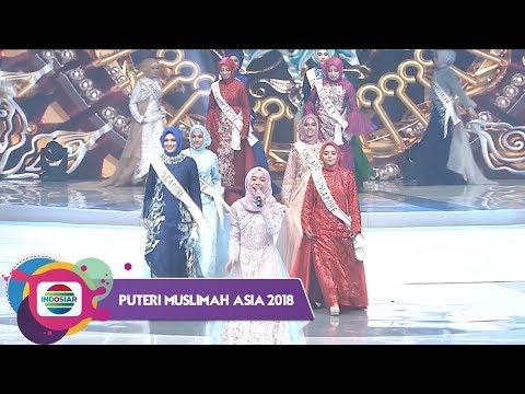 Reza & Lesti Mengiringi Perkenalan Finalis Puteri Muslimah Asia 2018