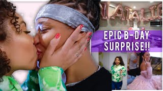 The Most *ROMANTIC* Birthday Surprise EVER! (EMOTIONAL) | EZEE X NATALIE