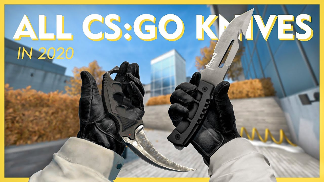 All Knives in CSGO   2020 (Default Knives w/Animations)