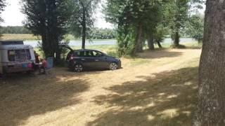Camping aan de Loire