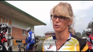 Première femme cycliste professionnelle