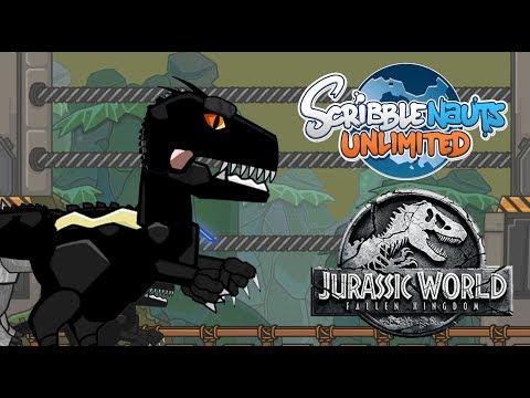 Scribblenauts Unlimited 279 Indoraptor from JURASSIC WORLD: FALLEN KINGDOM |