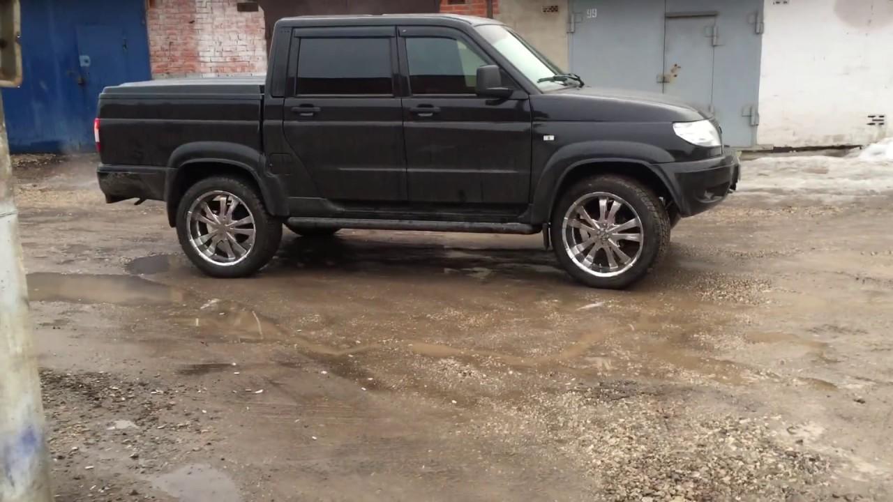 УАЗ Патриот Пикап 2017 2.7 (135 л.с.) 4WD MT Карго Комфорт .