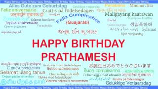 Prathamesh   Languages Idiomas - Happy Birthday
