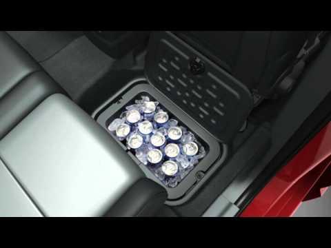 2013 Dodge Journey In Floor Storage Bin Youtube