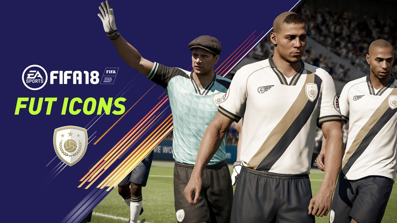 premium selection aafea 2747f FIFA 18 | FUT ICONS | Ronaldo Nazário, Maradona, Henry, Yashin, Pelé