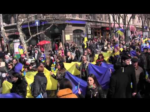 March for a United Ukraine in Odessa Марш за Единство Украины в Одессе