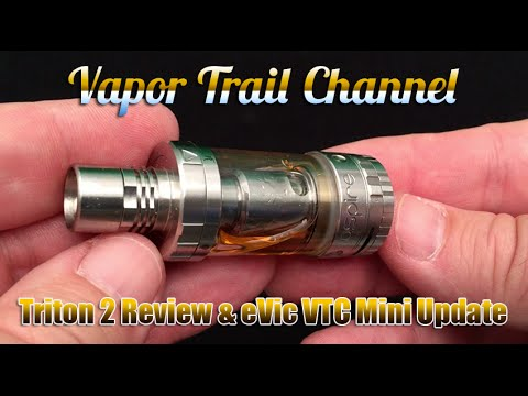 Aspire Triton 2 (Clapton Coils) & eVic VTC Mini Firmware Update 2.0