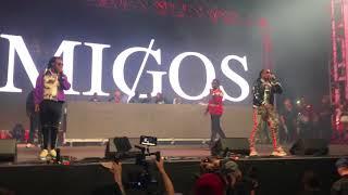 Скачать Migos Gucci Mane I Get The Bag Live Rolling Loud 2017