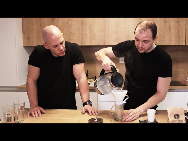 Filter alebo Hario V60 - príprava kávy s Peťo Szabom z Coffeein.sk