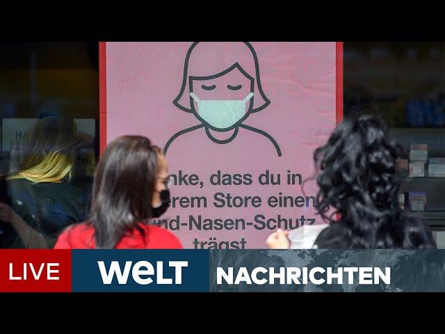 ZU HOHE CORONA-INZIDENZ: Dresden und Leipzig führen Maskenpflicht wieder ein | WELT Newsstream