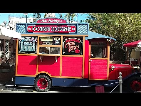 Mealtime At Disneyland: Little Red Wagon (Corn Dogs)