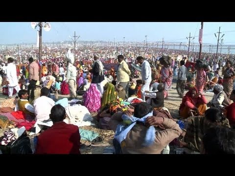 Millions bathe in Ganges at India's Kumbh Mela