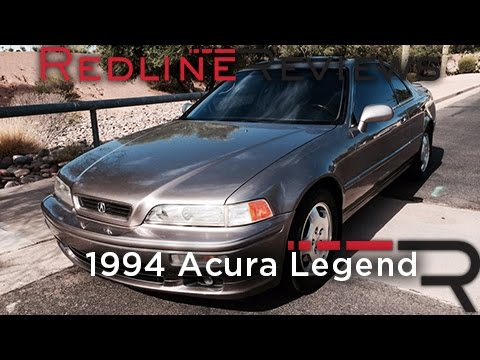 1994 Acura Legend – Redline: Review