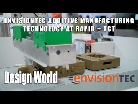 EnvisionTEC displays its range of additive manufacturing technology at RAPID + TCT