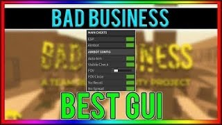 : v2Movie : [OP] Roblox Script: Bad Business Prototype ...