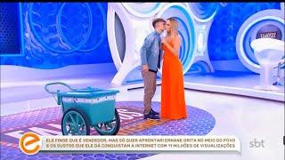PARTICIPAÇÃO DE ERNANE FIGUEIREDO NO PROGRAMA DA ELIANA QUADRO FAMOSOS DA INTERNET