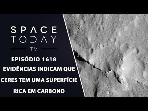 Evidências Indicam Que Ceres Tem Uma Superfície Rica Em Carbono - Space Today TV Ep.1618