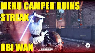Star Wars Battlefront 2 - HUGE Obi Wan Kenobi killstreak ruined by HERO thief! (Capital Supremacy)