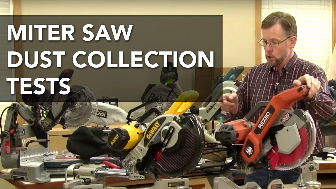What Miter Saw Has The Best Dust Collection Miter Saw