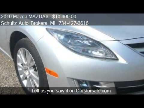 2010 Mazda MAZDA6 i Touring Plus 4dr Sedan for sale in Livon