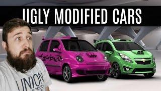 UGLY MODIFIED CARS (Matiz, Spark & Sandero) - 3D Tuning Funny Moments