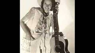 Patsy Montana - I want to be a cowboy