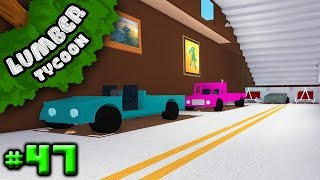 Lumber Tycoon Ep. 47: FINISHED GARAGE!! | Roblox