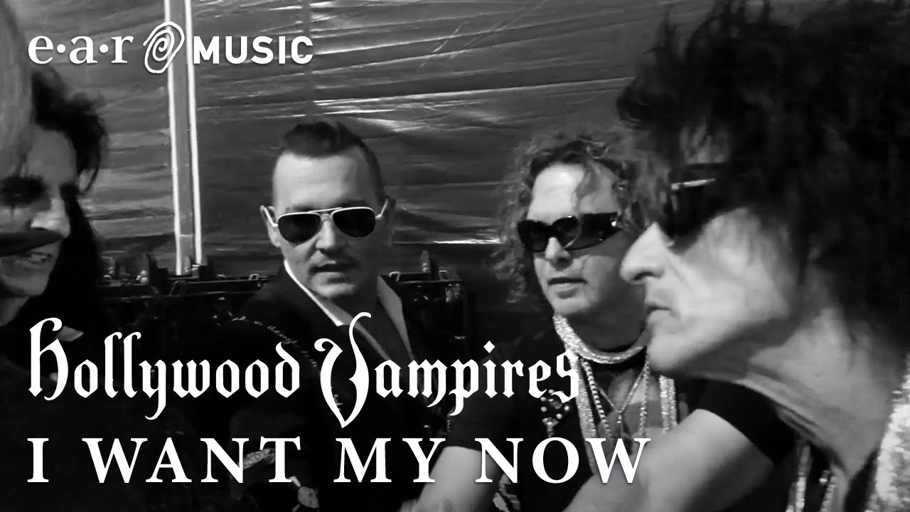 "Hollywood Vampires ""I Want My Now"" Official Music Video - New Album ""Rise"" OUT N"