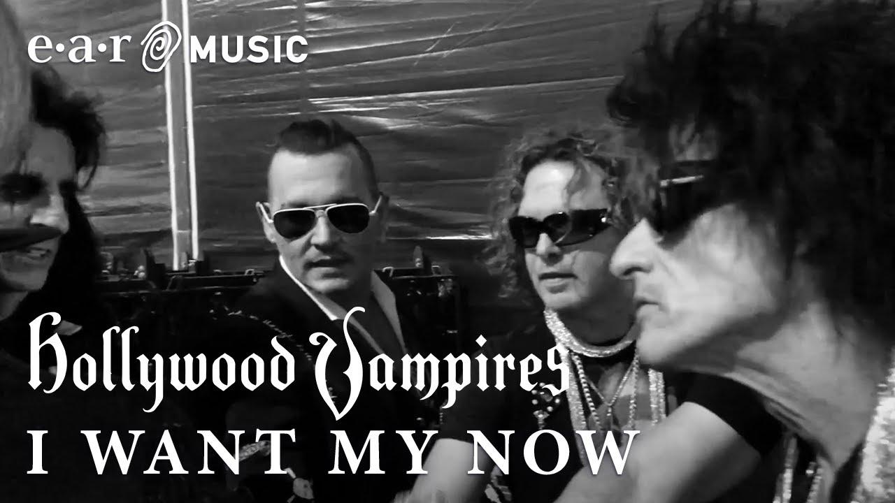 Resultado de imagem para Confira novo clipe do The Hollywood Vampires I Want My Now