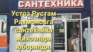 Рустам Рахмонов устозга сантехника жихозлари етказилди#SUXROB#SHUXRAT BIZNIS#