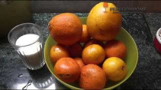 Домашняя настойка коньячная и мандариновый ликер
