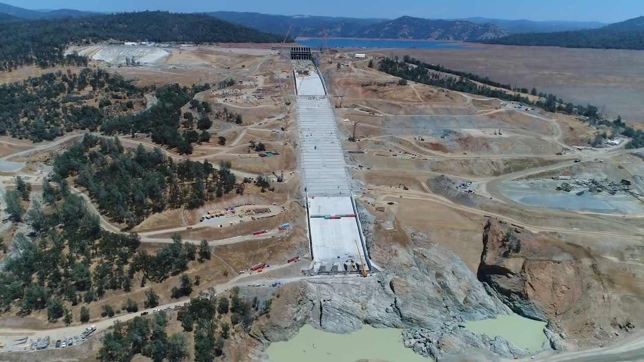 DWR plans to drop Lake Oroville water levels