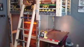 Hockey Stick Loft Construction