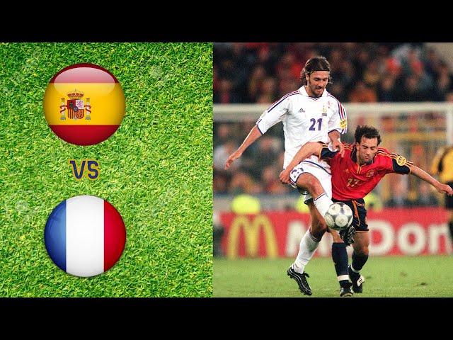 France - Espagne 1-1 l Euro 1996 - Phase de poules l Résumé