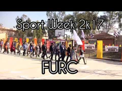 FURC Sports Week 2017