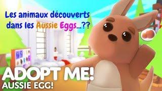 Roblox - Adopt me - Quels animaux se cachent dans nos Aussie Eggs!