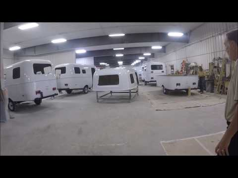 How They Build a Scamp Travel Trailer in Backus, Mn. #1