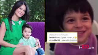 Ebru Şallı oğlunun videosunu görünce gözyaşlarına boğuldu