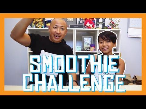 SMOOTHIE CHALLENGE #SmoothieChallenge | Aidan Prince