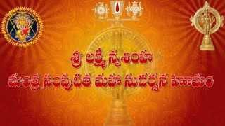 Sri Lakshmi Narasimha Mantra Samputita Maha Sudarshana Homam Part-3