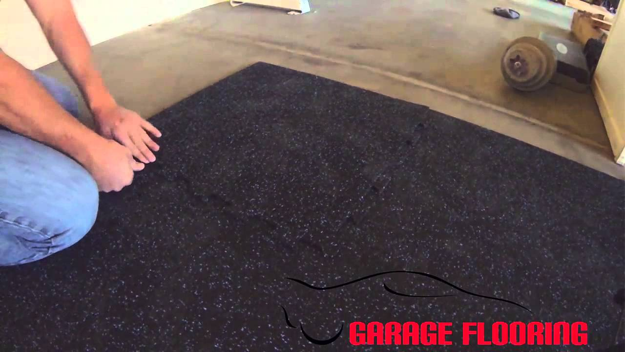 TrueLock Interlocking Rubber Flooring Tile YouTube