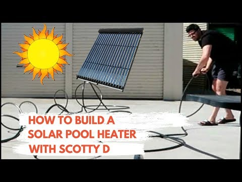 How to build a Solar water heater for cheap (Pool Heater)